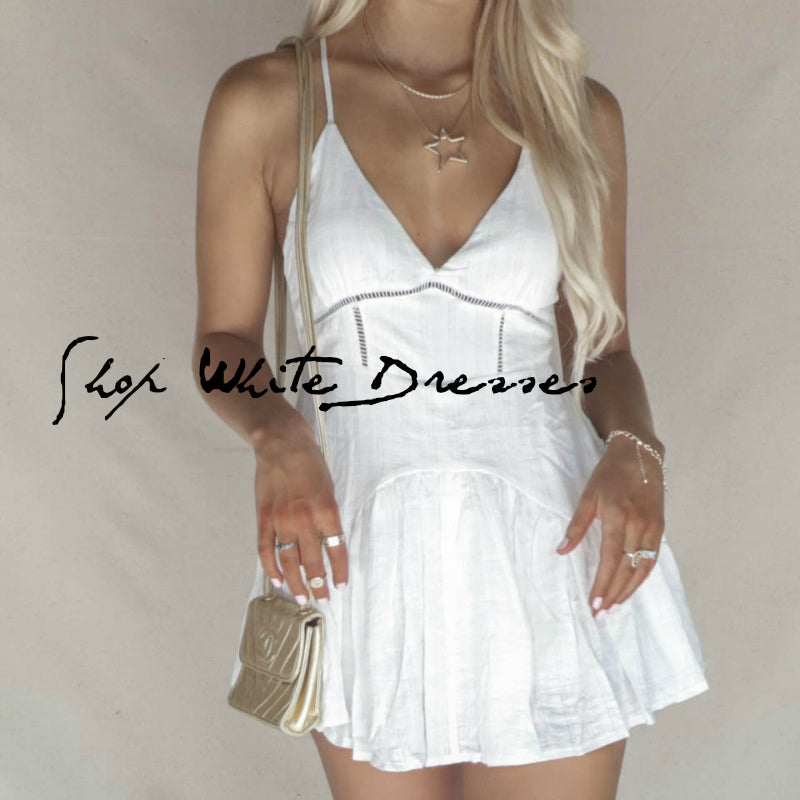 NEW WHITE DRESSES! Shop Now For Your Wardrobe