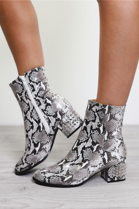 Last Chance Snake Skin Boots