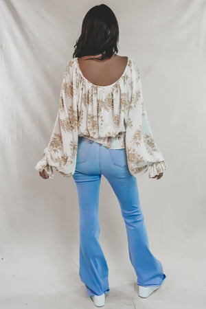 Honey Bee High Rise Super Flare Jeans