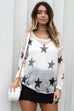 Best Days White Star Beach Sweater