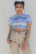Sweet Thing Sheer Cherub Crop Top