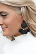 Ever After Chunky Gold Tassel Earrings