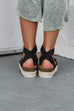 No Doubt Black Platform Espadrilles