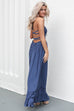 Chasing A Feeling Navy Maxi Dress