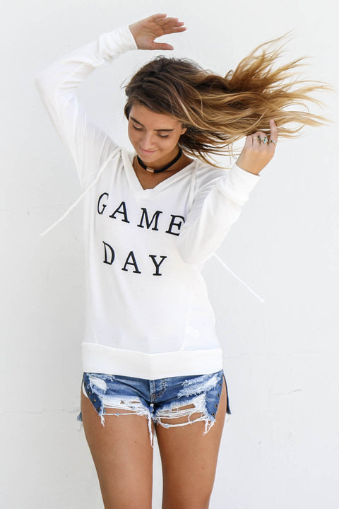 Game Day Hoodie - Amazing Lace
