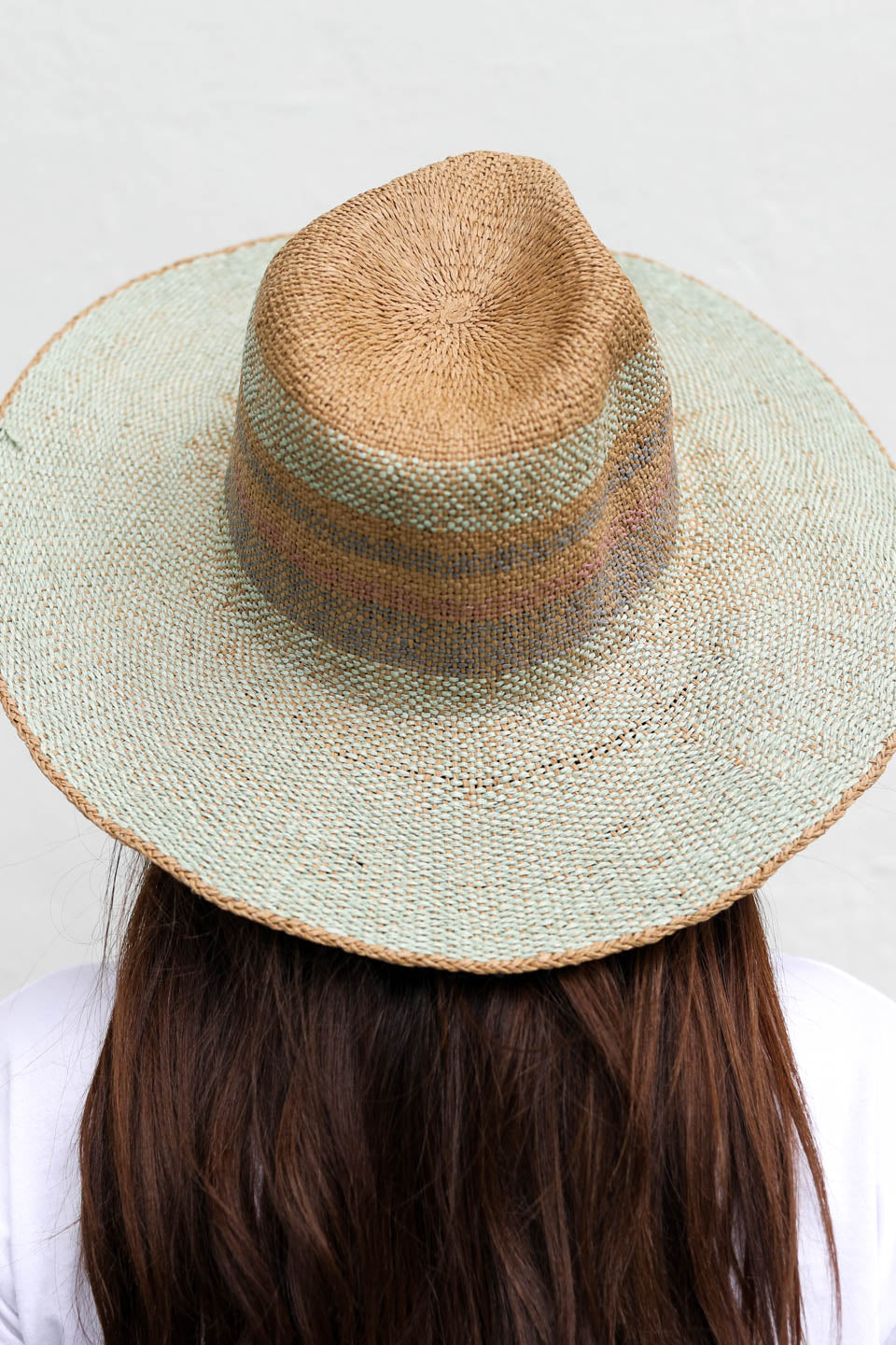 Meadow Days Multicolored Straw Hat