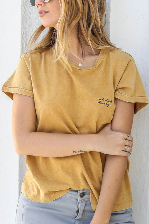 KNOT SISTERS Uh Huh Honey Tee - Amazing Lace