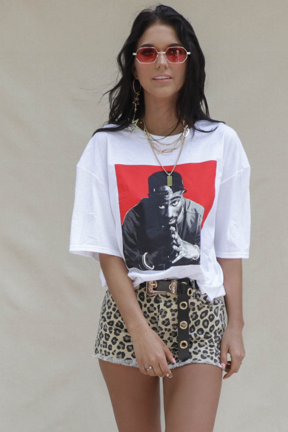 Poetic Justice 2Pac Crop T-Shirt