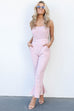In The Air Mauve Jumpsuit