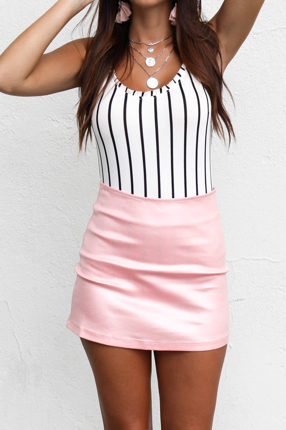 More Dancing Shimmer Baby Pink Skirt