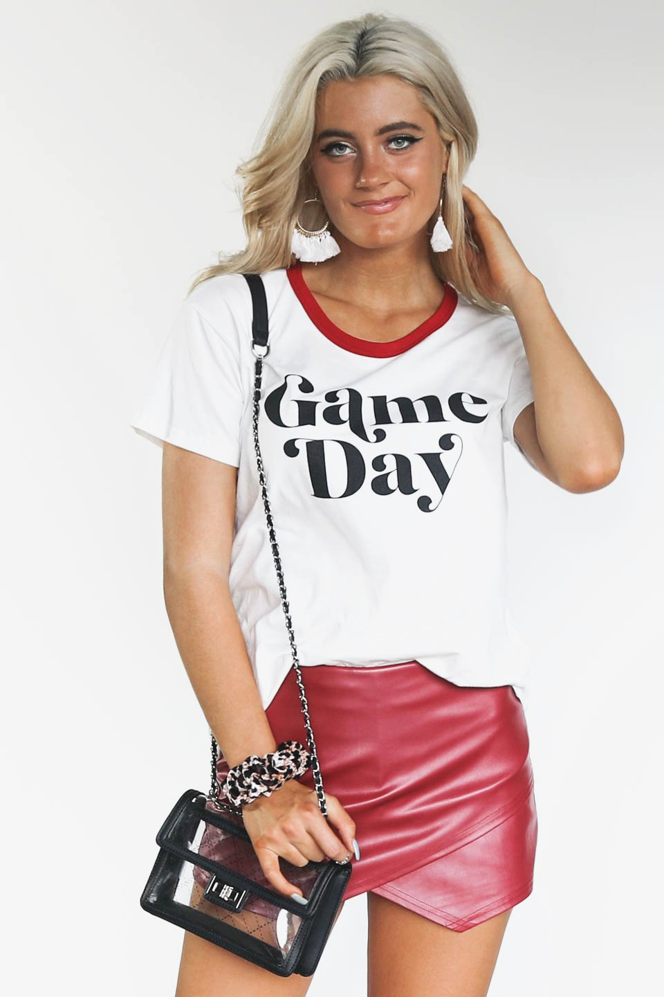 White Game Day T-Shirt