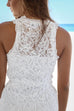 North Holland Textured White Lace Dress - Amazing Lace