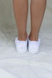 Annie All White Lace Up Sneakers