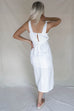 Waikiki Off White Linen Wrap Dress