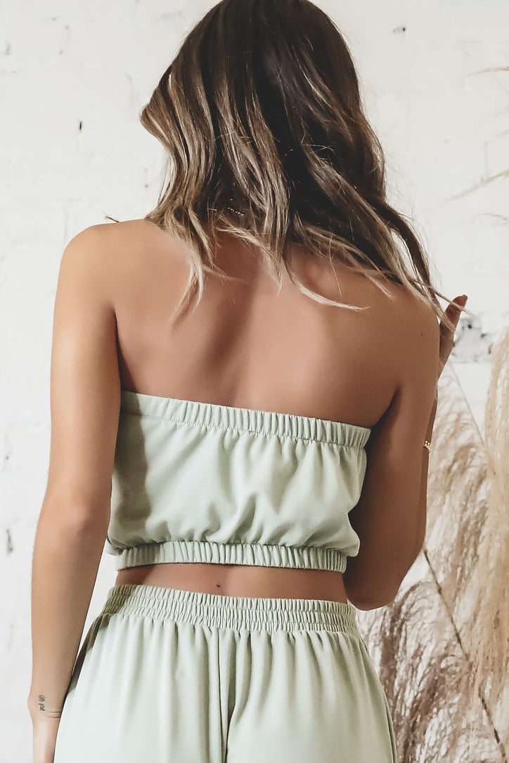 SAGE THE LABEL Luxe Lounge Tube Top