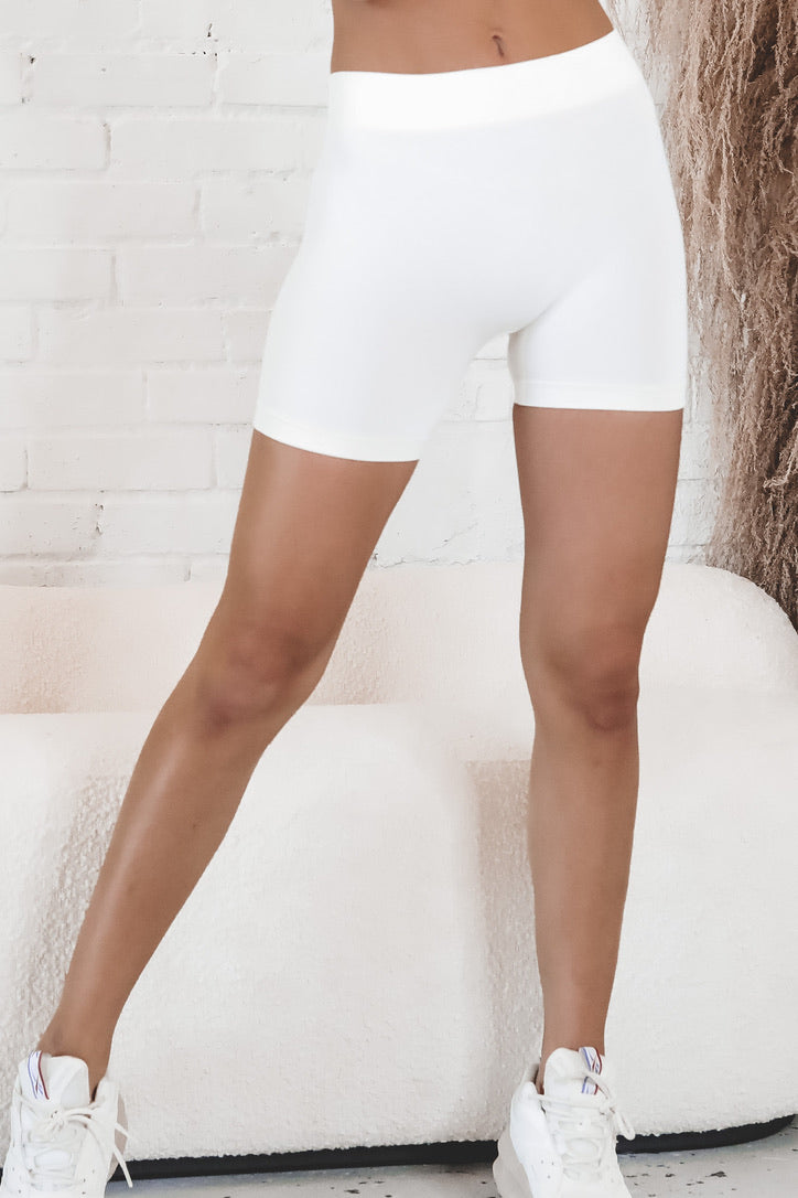 Too Soon Seamless Mini Biker Shorts