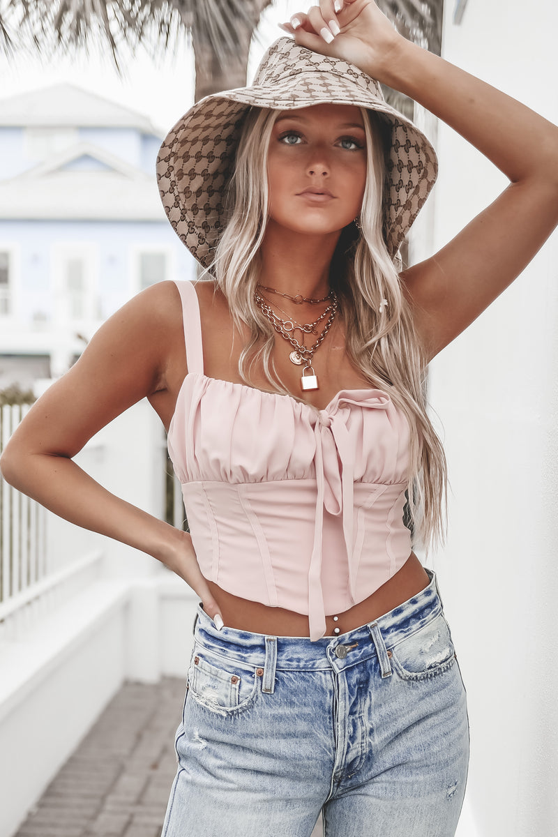 Walked Right In Blush Top