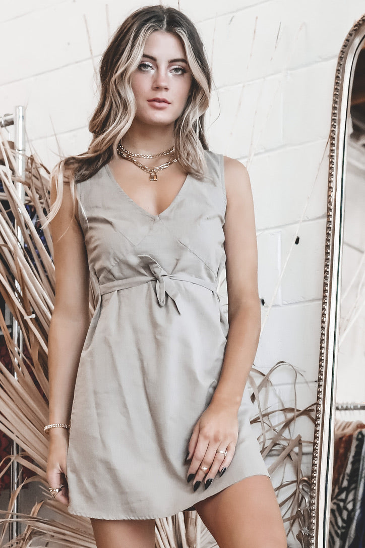 THRILLS Army Fade Gemma Dress