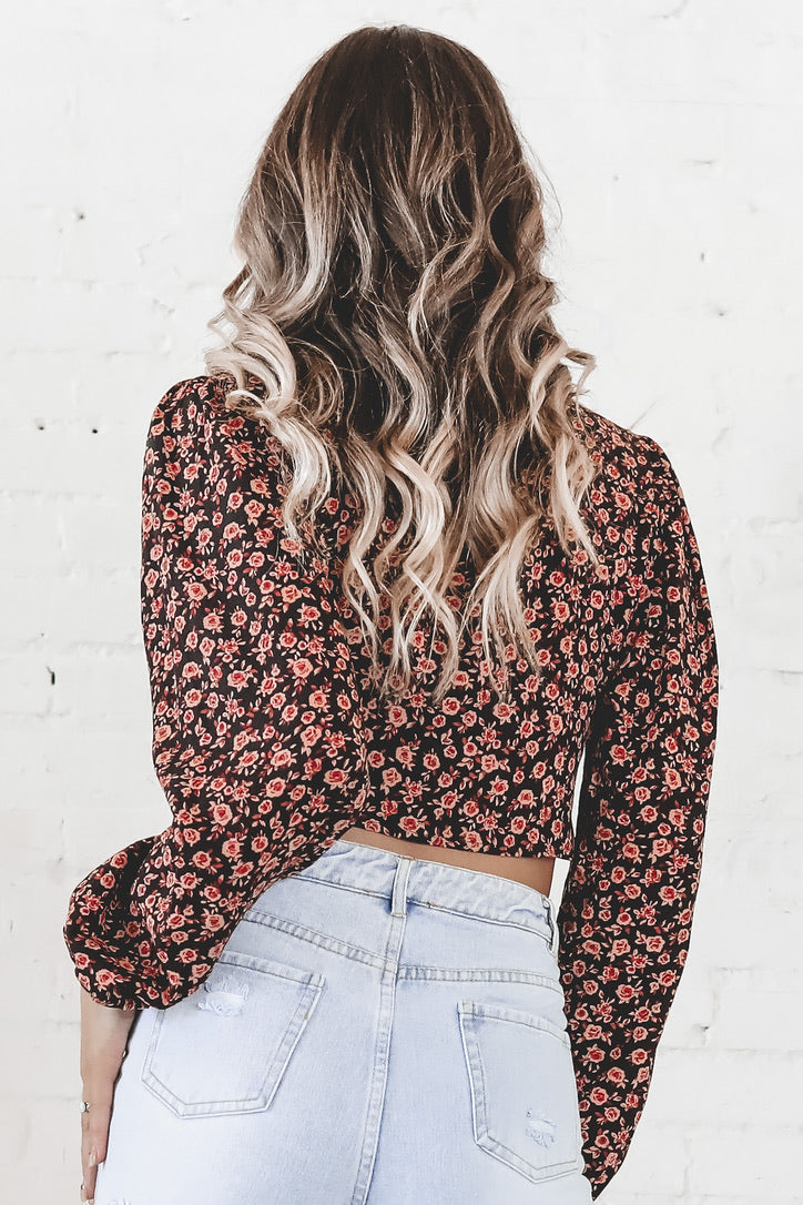 MOTEL Glario Autumn Blossom Top