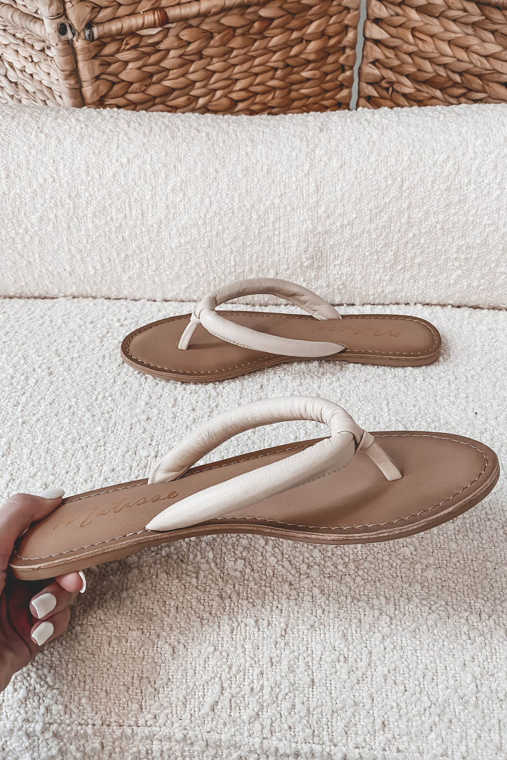 MATISSE Unwind Nude Slip On Shoes