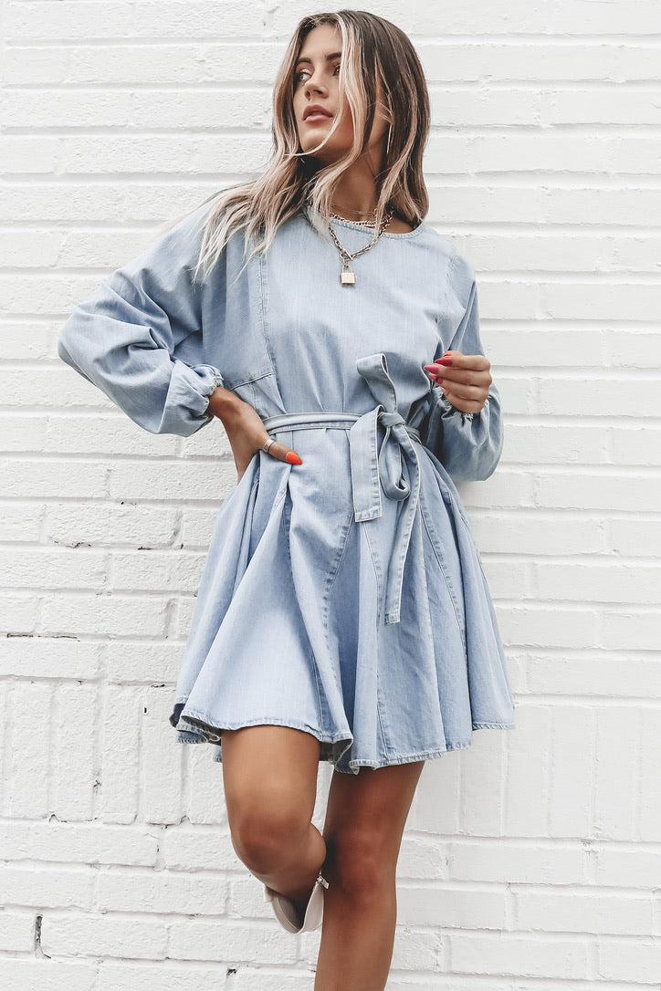MINKPINK Curious Smock Dress