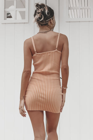 Rock The Beach Ribbed Bodycon Dress