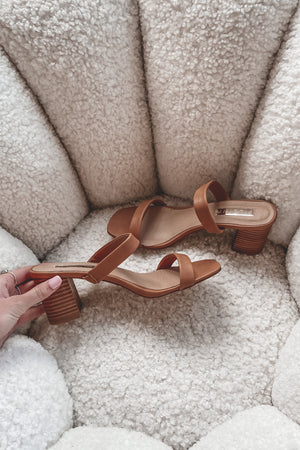 BILLINI Young Sugar Brown/ Natural Sandals