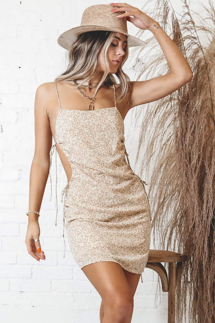 Sweet As It Gets Butter Slip Dress