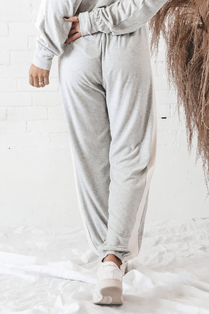 Hearts On Fire Gray Joggers