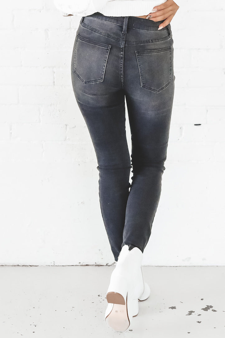 PISTOLA Amanda High Rise Seamed Skinny In 6AM