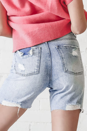 Keep The Trends Coming 90's Distressed Shorts