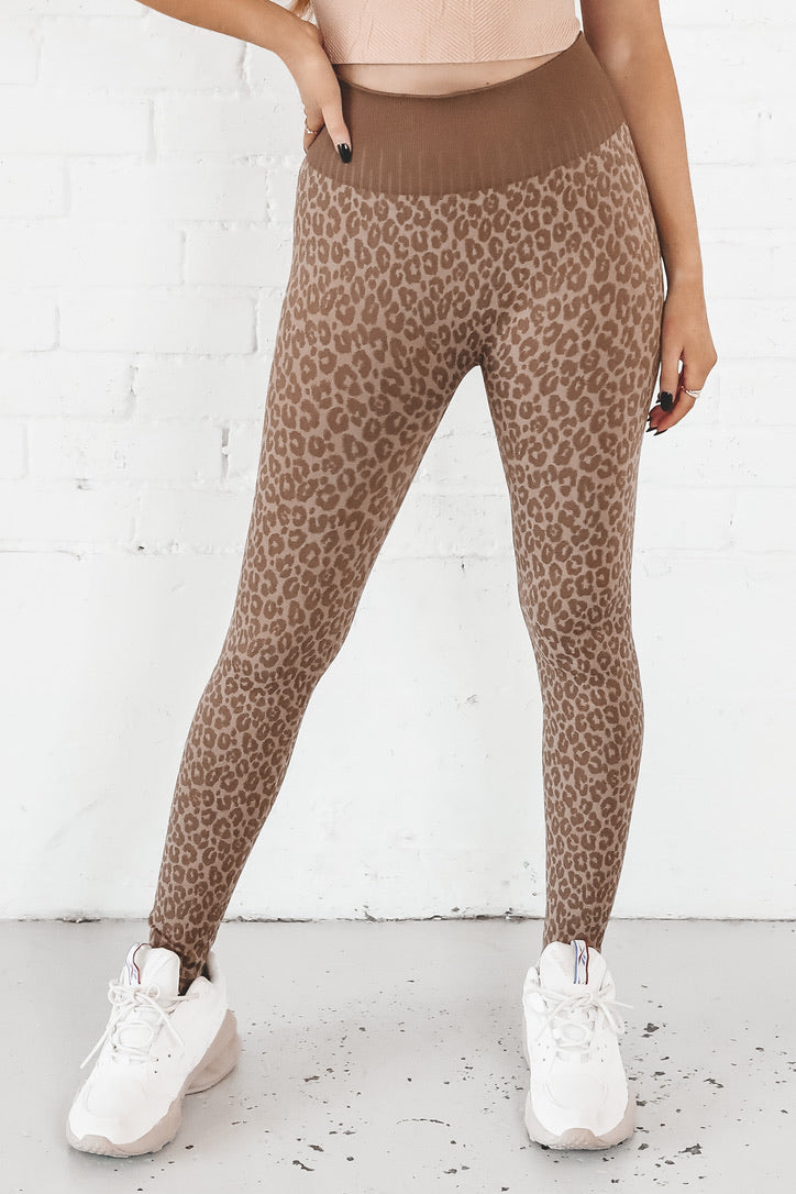 Wild WayS leopard Lounge Leggings