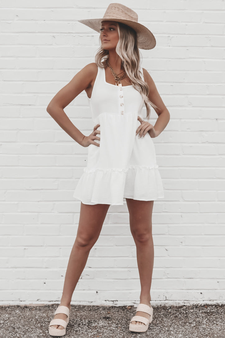 Beach You To It Babydoll Dress