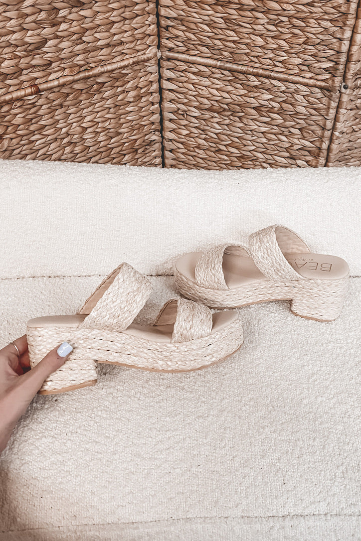 MATISSE Ocean Ave Natural Sandals