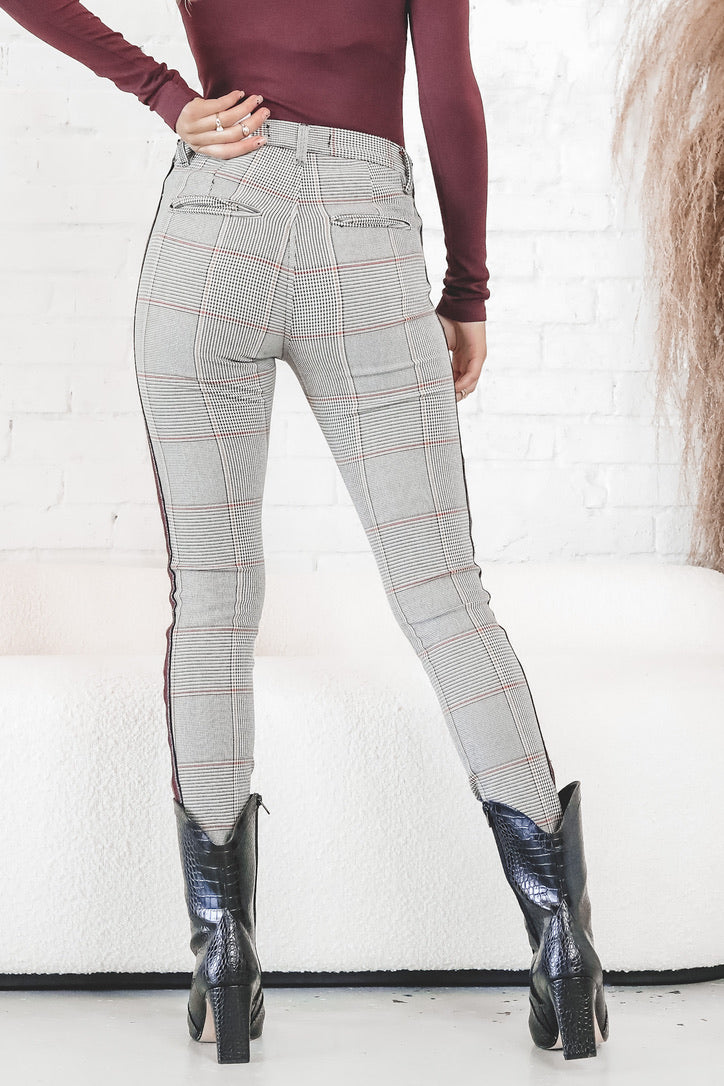 Best Of Both Plaid And Denim Pants