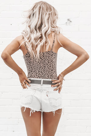 Better Than You Pink Leopard Print Bodysuit