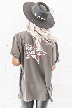 Vintage Rolling Stones Tour Of America Tee 6