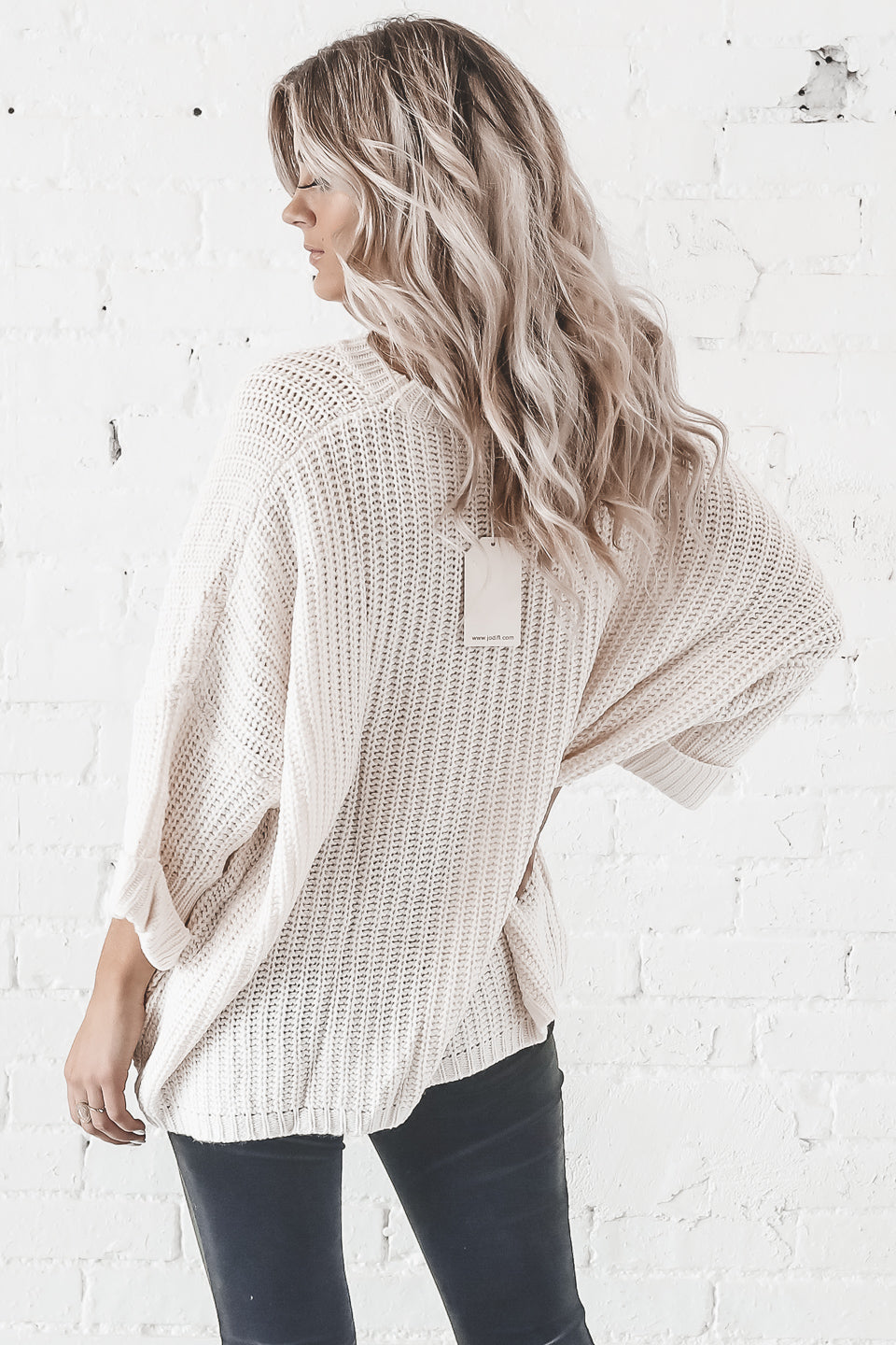 Magic In The Air Natural Knit Sweater