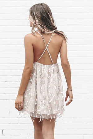 Invite Only Sequin Mini Dress