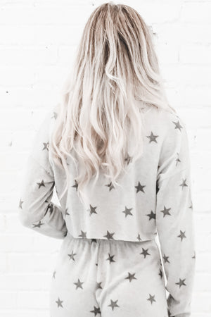 Lounge On The Stars Crop Top