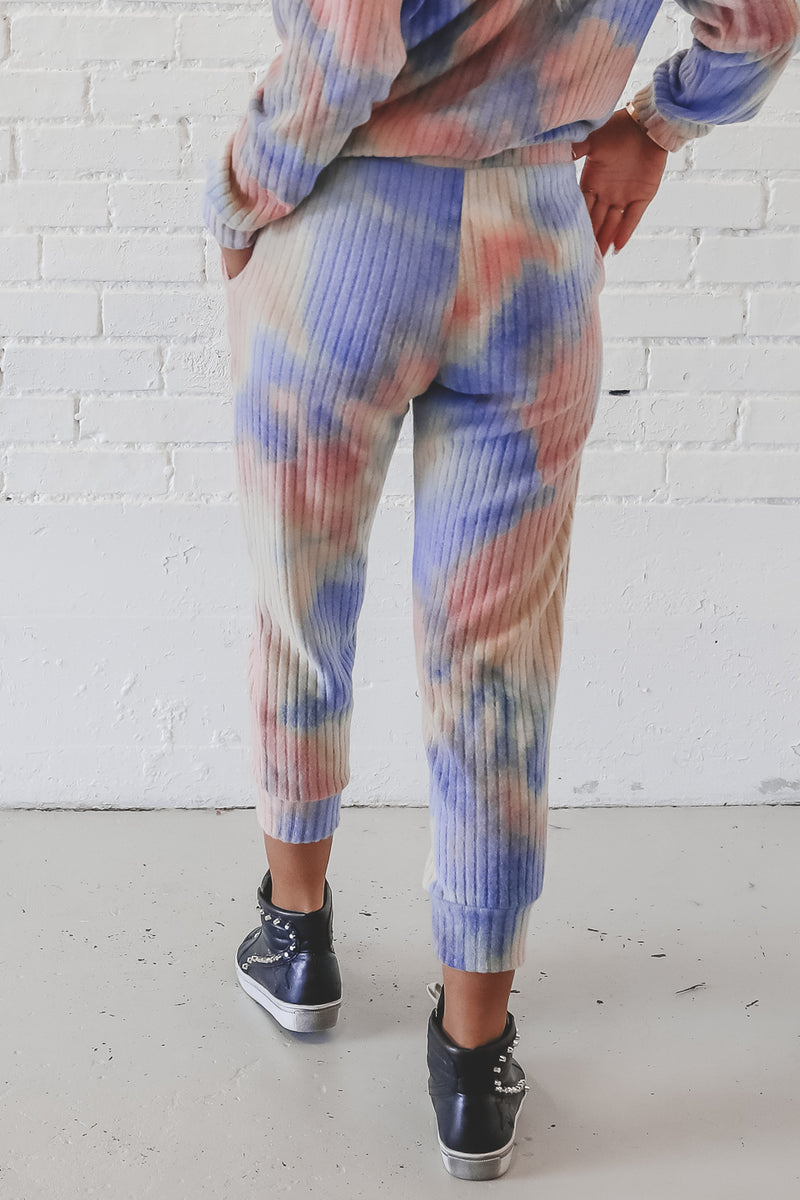 High Expectations Tie Die Joggers