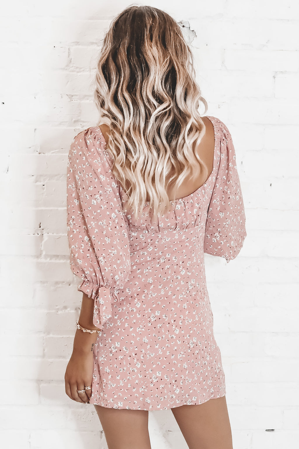 Back And Better Blush Mini Dress