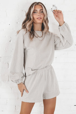Hallmark Movie Marathon Gray Two Piece Set