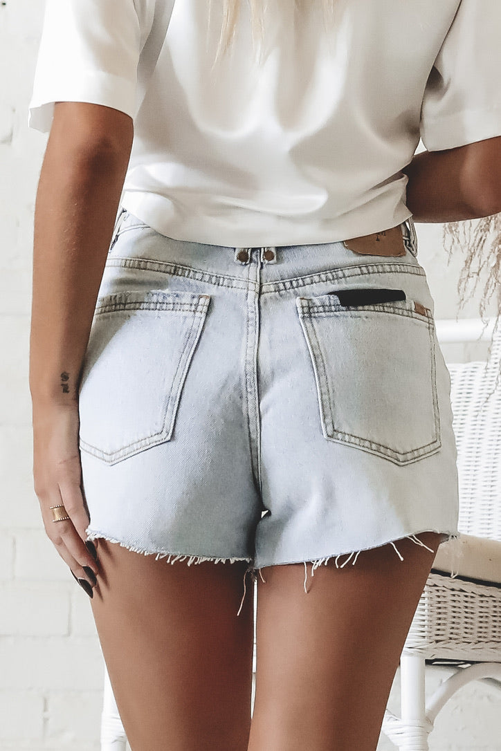 THRILLS Worn Blue Erin Short