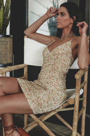 Dress And Ready Floral Mesh Dress