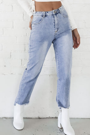 Back And Better Back Cut Out Jeans