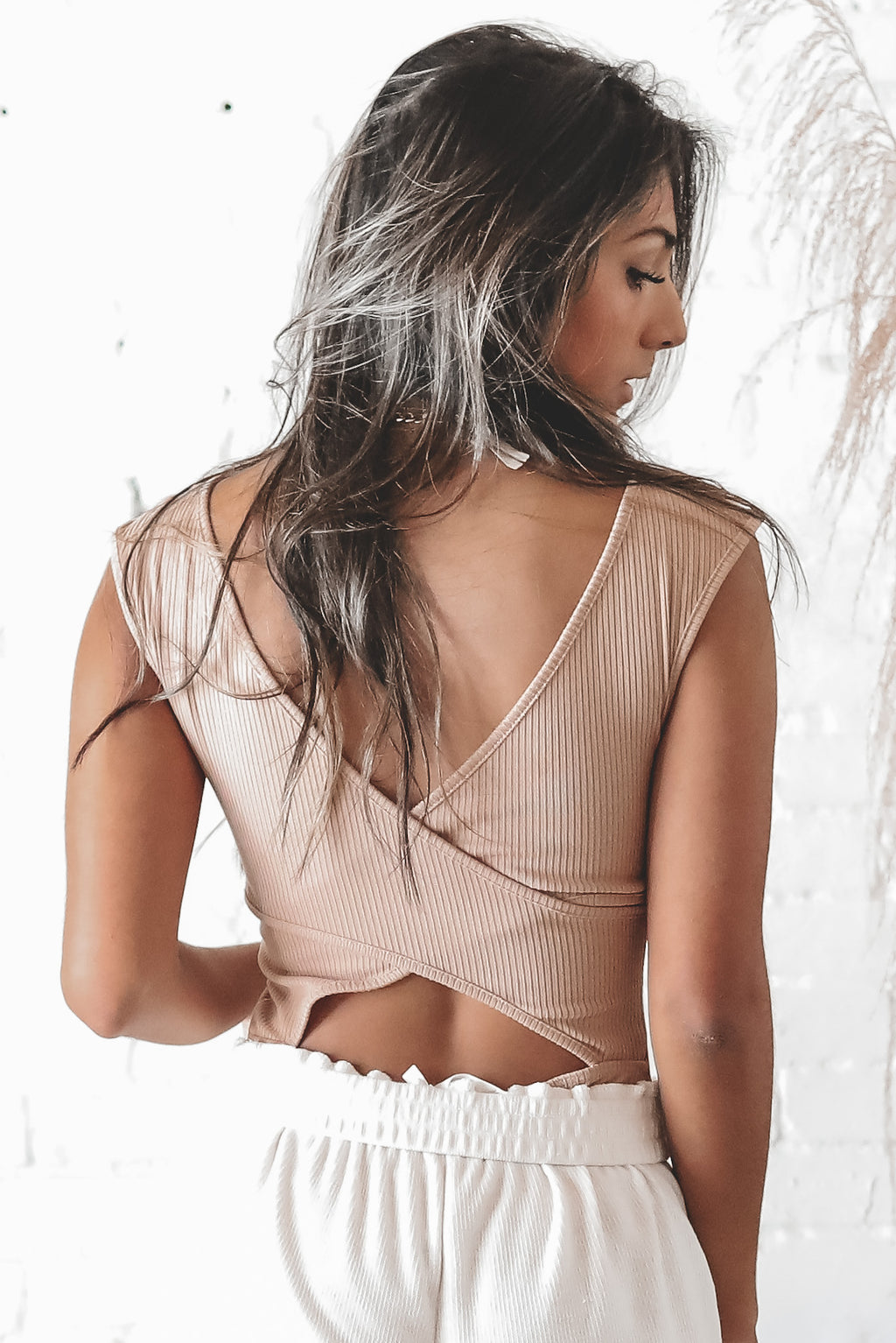 Back And Better Criss Cross Back Bodysuit