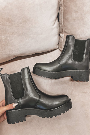 DIRTY LAUNDRY Black Margo Boot