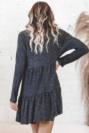 SADIE & SAGE Macie's Blues Heather Knit Dress