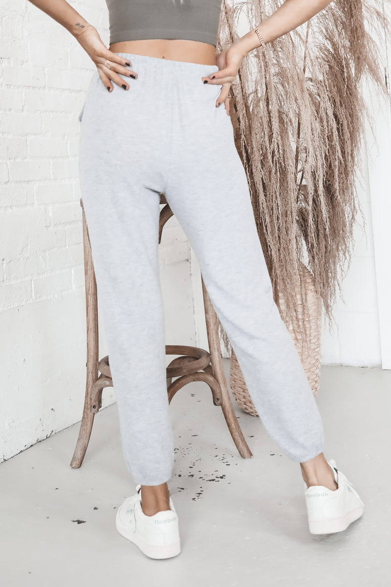 Make Luck Heather Gray Joggers
